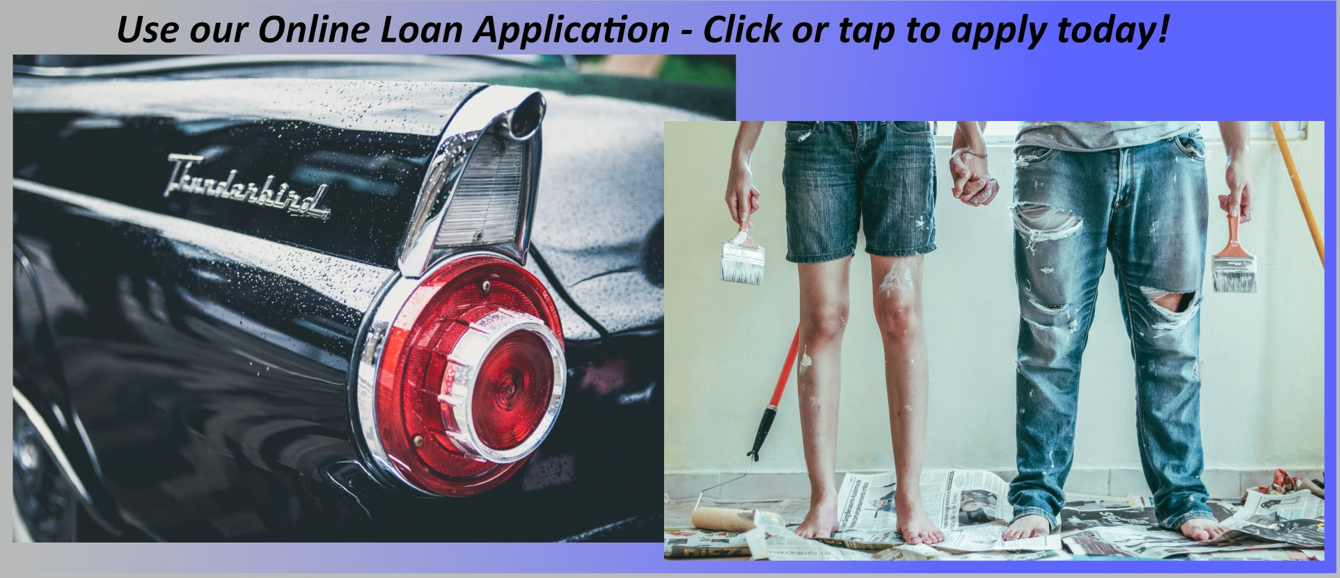 Loan Application Banner